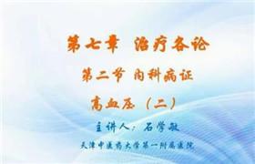 天津中医药大学 石学敏 针灸学 123讲 视频教程