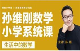 孙维刚研究院 数学小学系统课-生活中的数学 百度云网盘