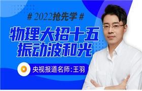 王羽【2022物理大招课】大招十五《3-4》振动波和光